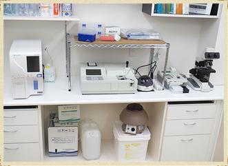 各種血液検査機器